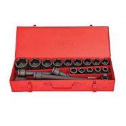 جعبه بکس درایو ۳/۴ اینچ ۱۹ پارچه فشار قوی توسن بدوتولز
